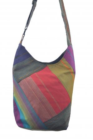 Geanta de umar multicolor - OM - Violet4