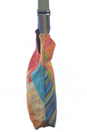 Geanta de umar multicolor - OM - Color Blocks2