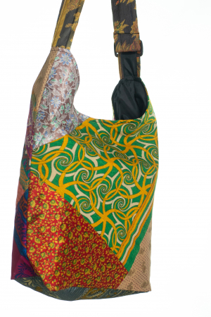 Geanta de umar multicolor - Patch 6 [2]