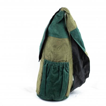 Geanta din bumbac - Verde deschis1
