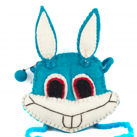 Gentuta de umar din feltru - B.Bunny2