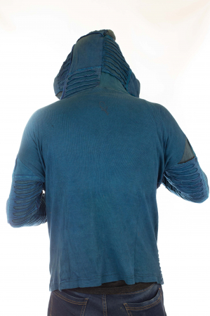 Hanorac Albastru razor cut9