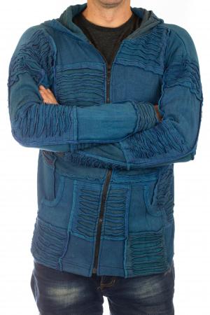 Hanorac Albastru razor cut3