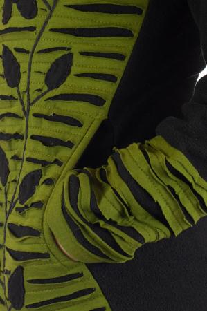 Hanorac Verde razor cut4