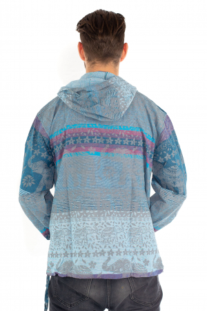 Hanorac lejer - Spiritual Elephant - Albastru [3]