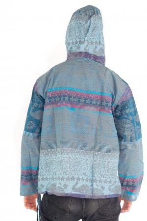 Hanorac lejer - Spiritual Elephant - Albastru [4]