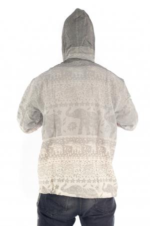 Hanorac lejer - Namaste Elephant - Gri [4]