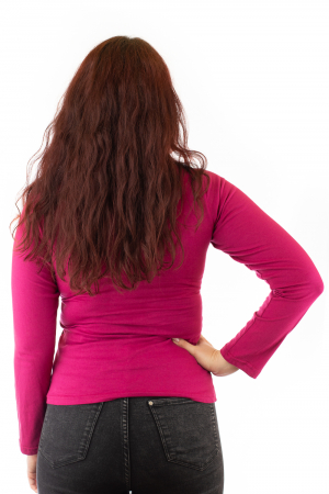 Bluza cu maneca lunga si print mandala R3072