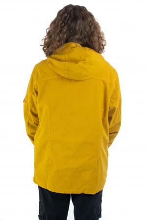Jacheta barbateasca din bumbac - Mustar [3]