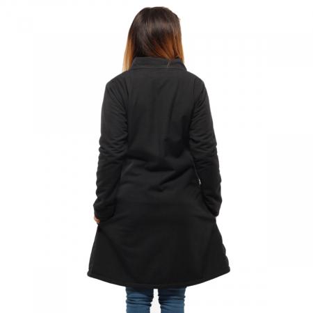Jacheta de bumbac cu fermoar – SIMETRIE3