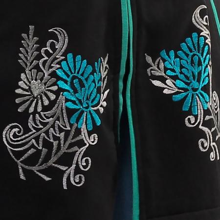 Jacheta de bumbac cu fermoar – SIMETRIE4