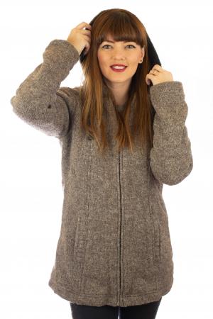 Jacheta de lana - Grey0