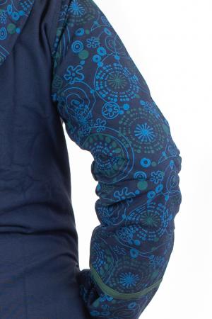 Jacheta de toamna din bumbac - Blue [5]