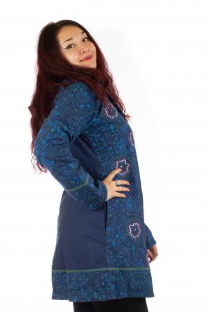 Jacheta de toamna din bumbac - Blue [3]
