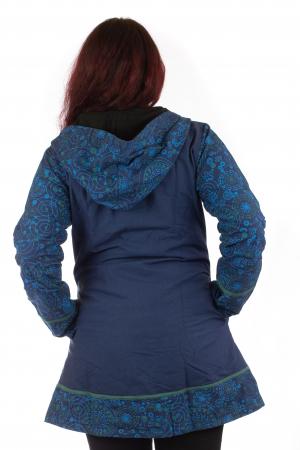 Jacheta de toamna din bumbac - Blue [4]