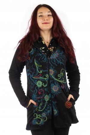 Jacheta de toamna cu print floral [0]