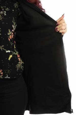 Jacheta de toamna cu print floral [1]