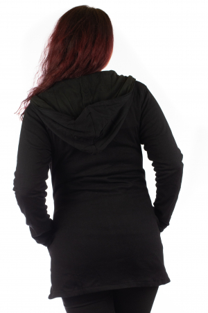 Jacheta de toamna cu print floral [4]