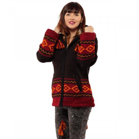Jacheta din lana - ELF1