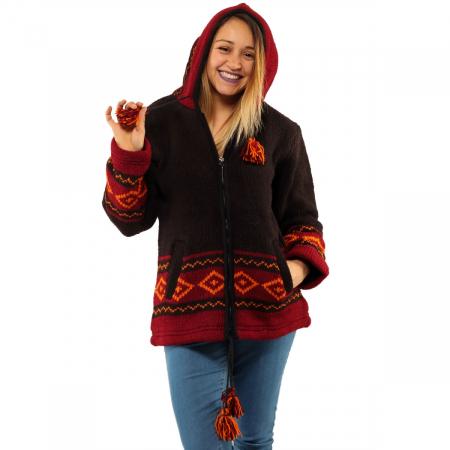 Jacheta din lana - ELF3