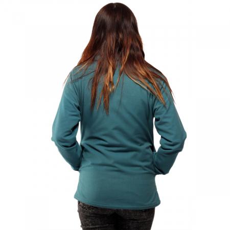 Jacheta scurta din bumbac - ALBASTRU4