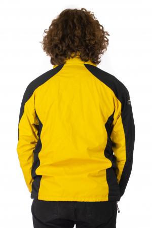 Jacheta subtire impermeabila - Galben si negru3