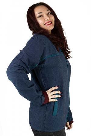 Jacheta din bumbac - Bleumarin [1]