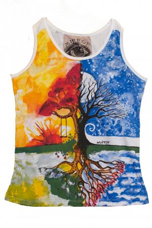 Maiou colorat Alb - 4 Seasons0
