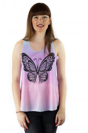 Maiou multicolor subtire de vara - Butterfly0