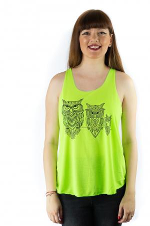 Maiou neon verde subtire de vara - Owl Trio0
