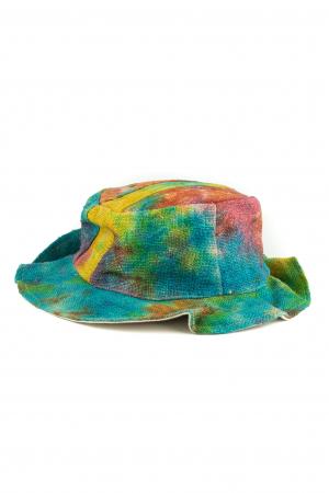 Palarie unicat Tie-Dye - Multicolor Mania0