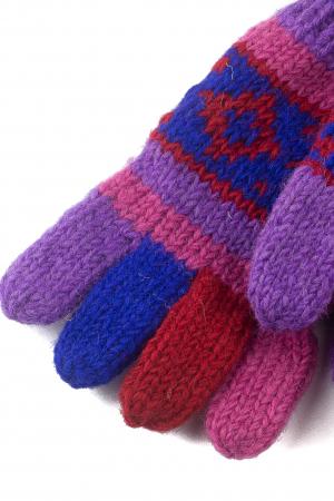 Manusi de lana - Color combo 211