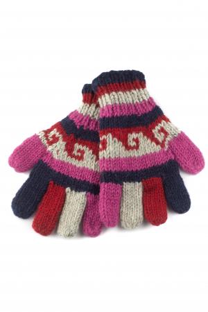 Manusi de lana - Color combo 260
