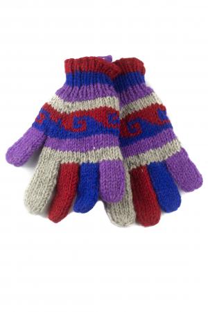 Manusi de lana - Color combo 280
