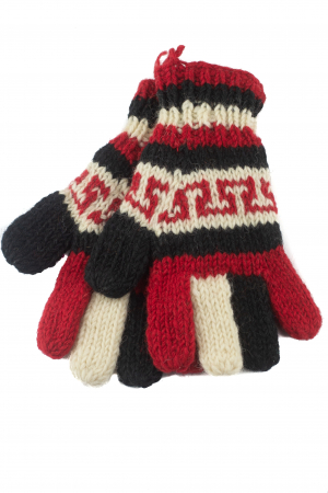 Manusi de lana - Color combo 310
