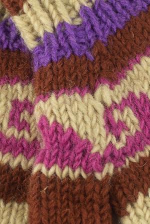 Manusi de lana - Color combo 342