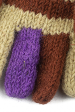 Manusi de lana - Color combo 341