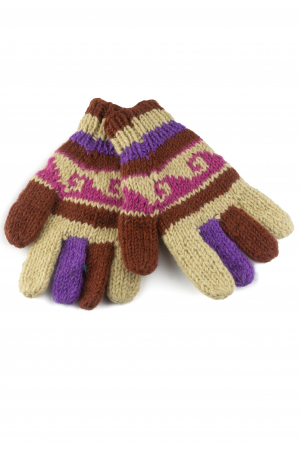 Manusi de lana - Color combo 340