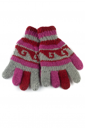 Manusi de lana - Color combo 390