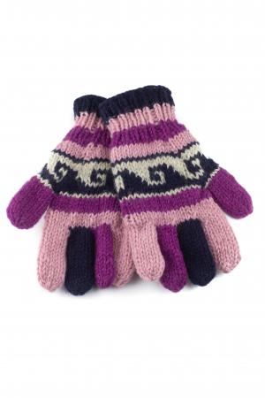 Manusi de lana - Color combo 410