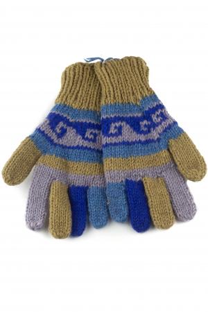 Manusi de lana - Color combo 510