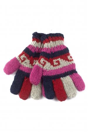 Manusi de lana - Color combo 570