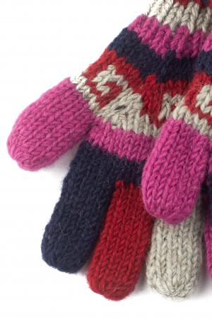 Manusi de lana - Color combo 571