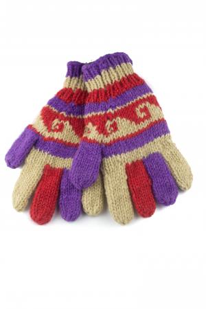 Manusi de lana - Color combo 660