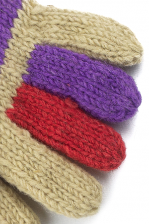 Manusi de lana - Color combo 662