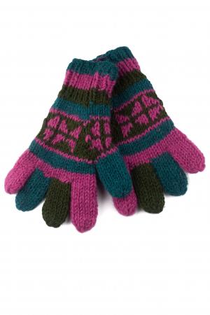 Manusi de lana - Color combo 730