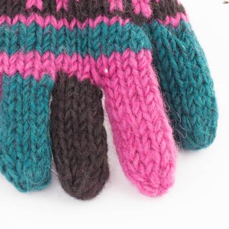 Manusi de lana - PINK1