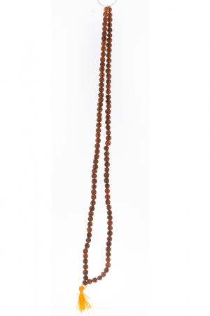 Colier - Praying rudraksha beads1