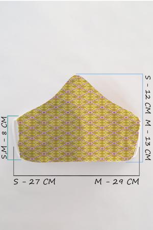 Masca bumbac cu filtru pentru adulti - Motiv 21