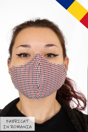Masca bumbac cu filtru pentru adulti - Motiv 10